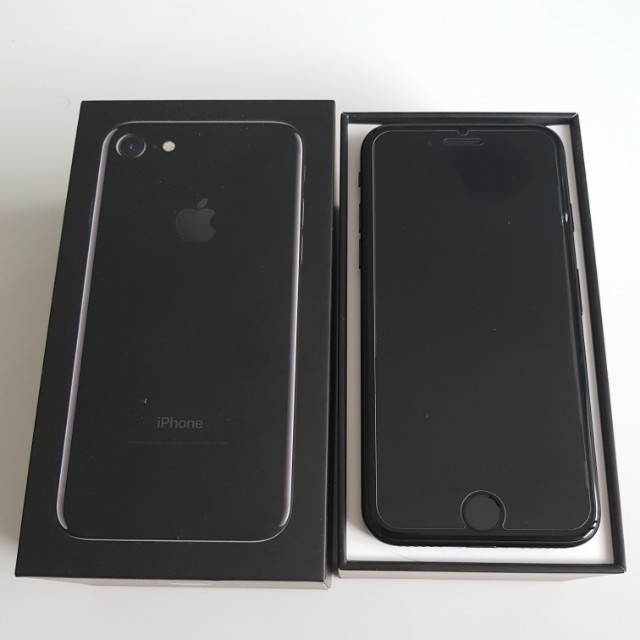 IPhone 7 128GB Jet Black 100% brand new