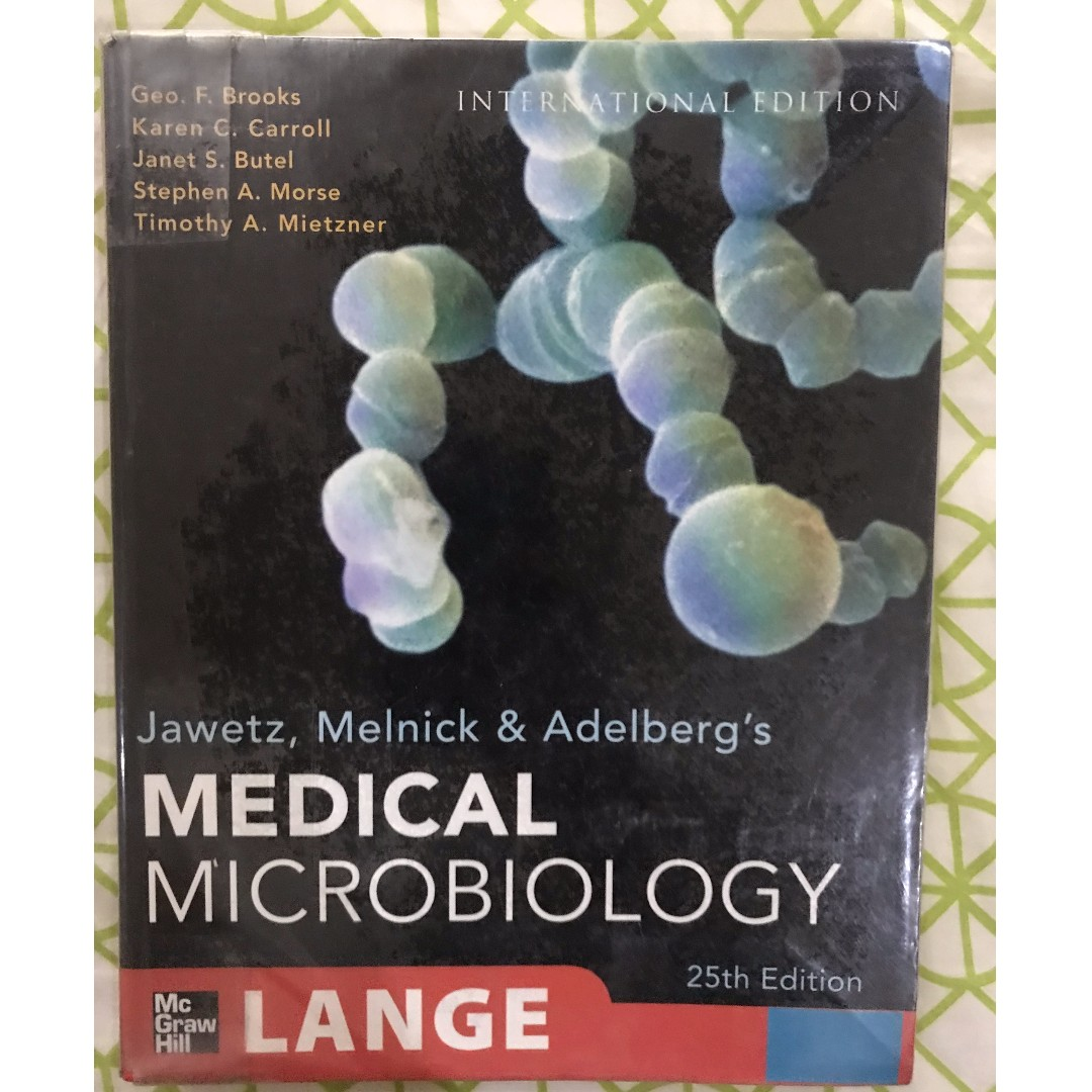 Medical Microbiology Jawetz Melnick 26 FREE edition PDF | 2018