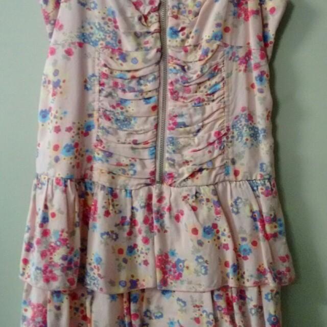 Jayjays pink floral dress-8-new