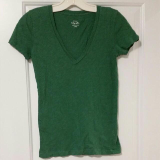 JCREW Tshirt size xxs (fits S)