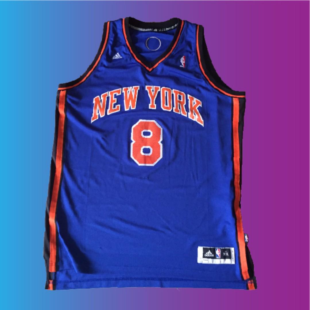 best service 763da 00032 JR Smith new york knicks jersey 球衣 nba