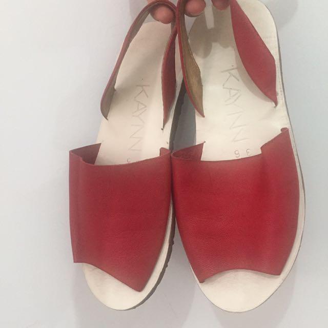 Kaynn sandal best seller - kulit asli - size 36