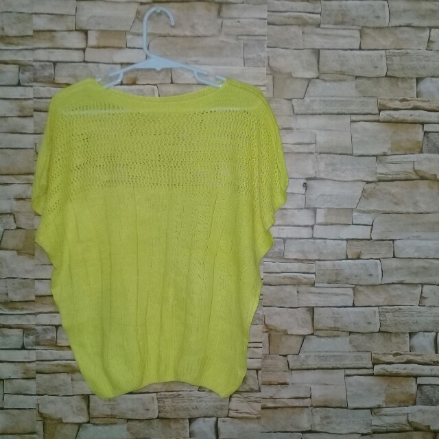 Large yellow top
