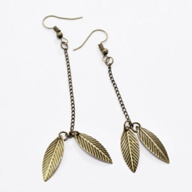 Leaf II Earings