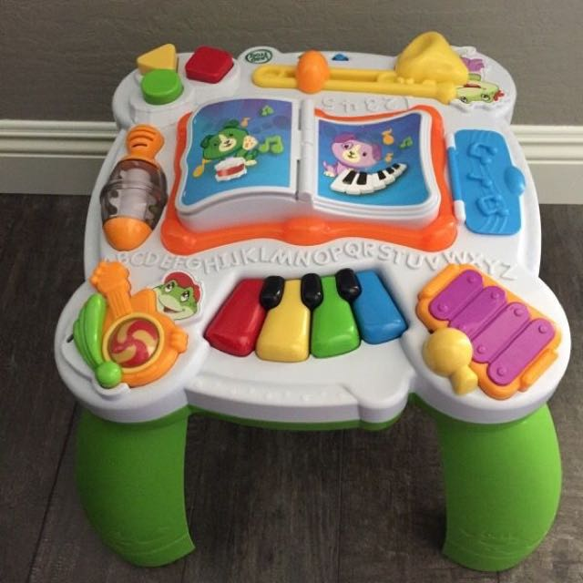 Leapfrog Learn Groove Musical Activity Table Babies Kids Toys