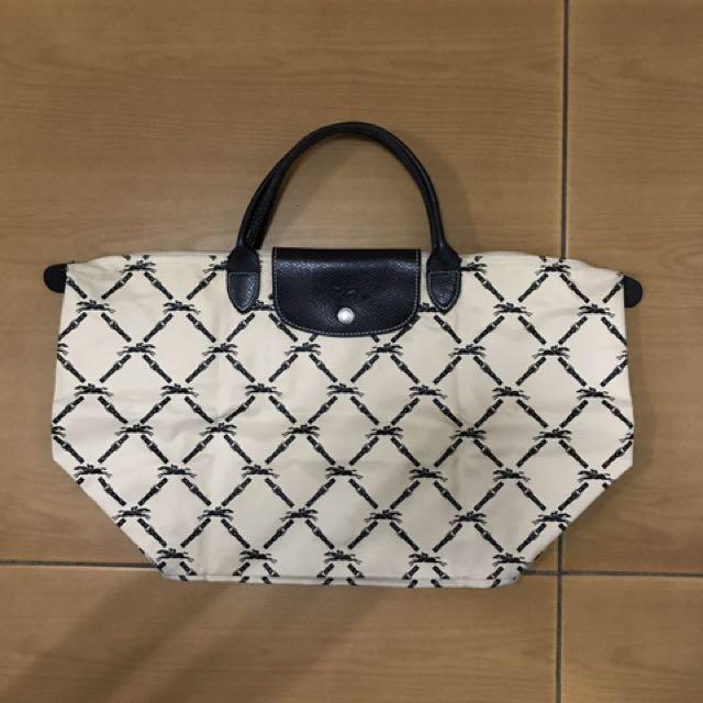 Longchamp short handle bag