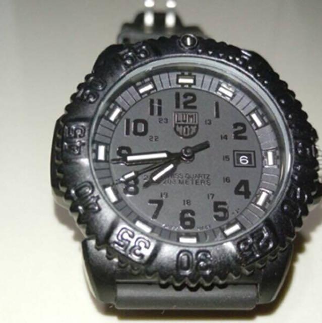e63cc1f39b8 Luminox watch Luminox Navy Seal Colormark 3050 Series