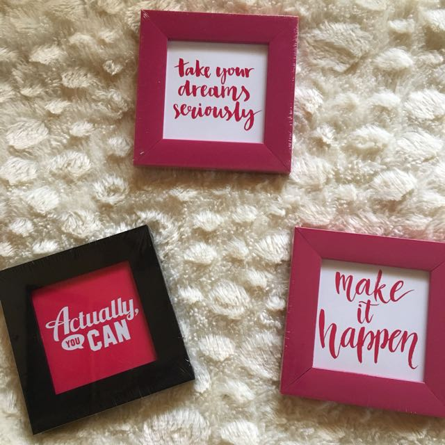 Magnetic Framed Quotes