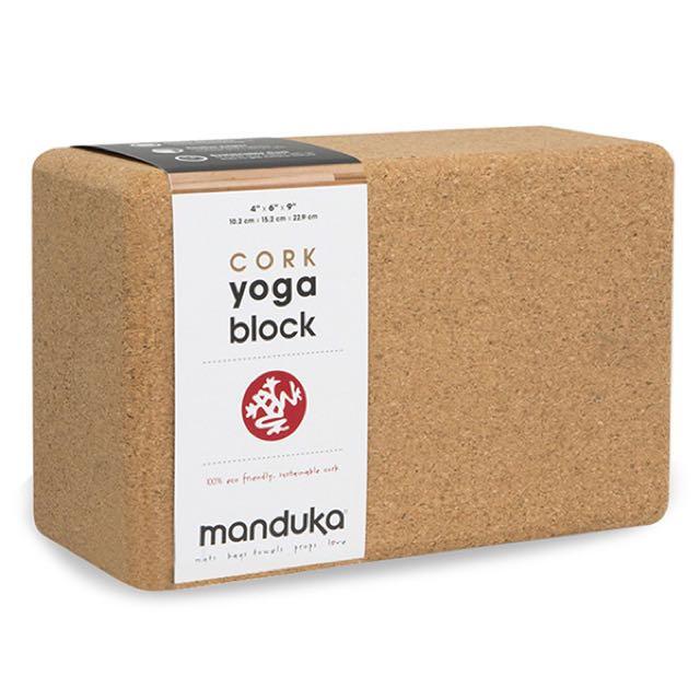 Manduka 軟木質瑜珈磚