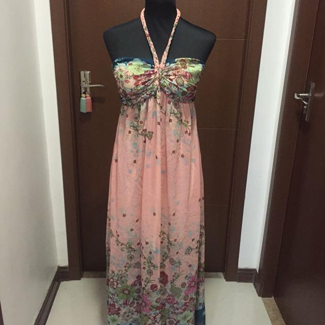 Maxi Dress Printed