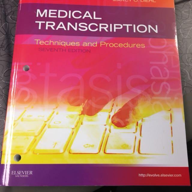 Medical Transcription Book