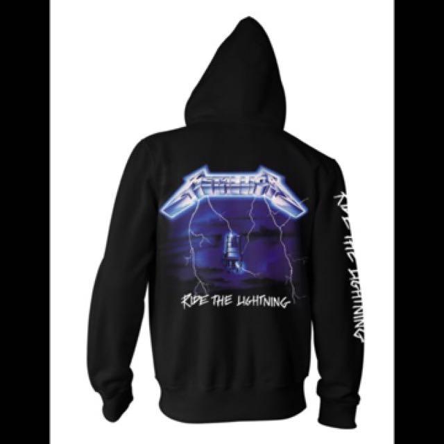 美國重金屬樂團Metallica (外套背面)