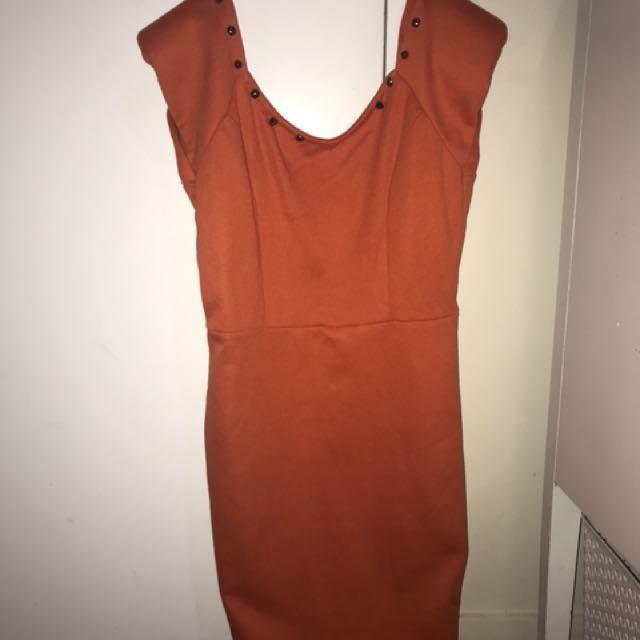 Mini Orange dress