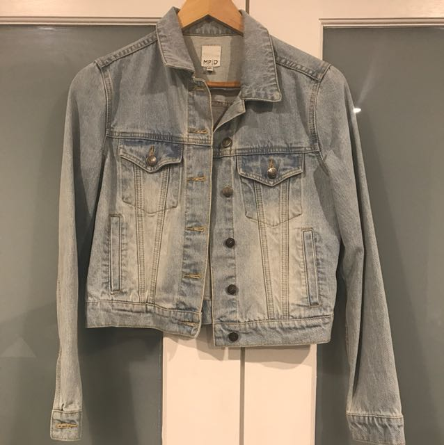 MINKPINK denim jacket in size XS