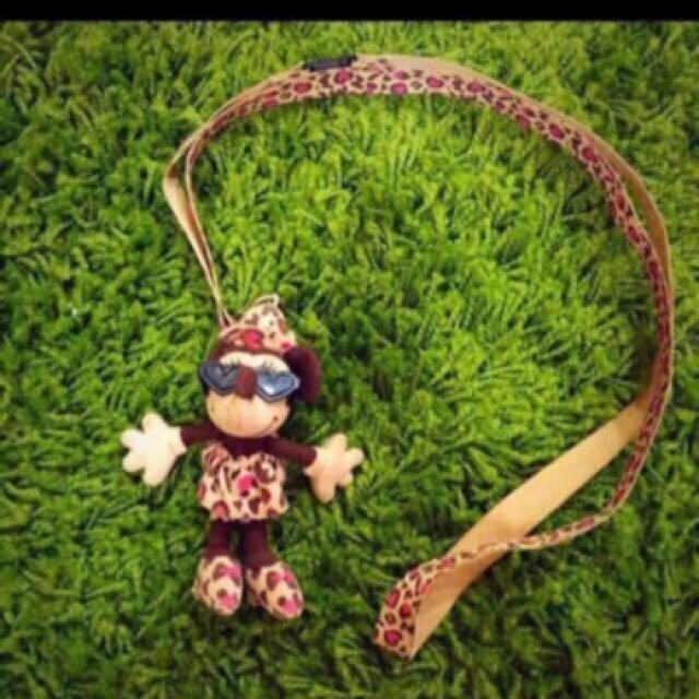 無敵可愛獨家二手日本東京迪士尼購入米妮Minnie吊飾娃娃
