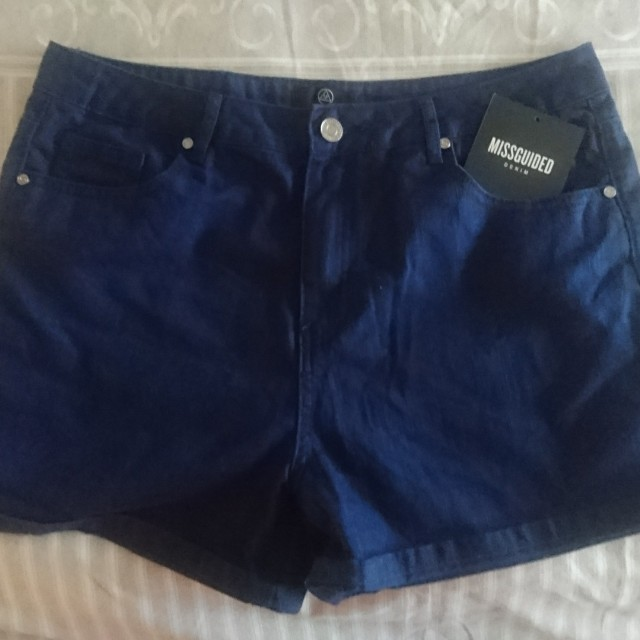 Missguided Riot High Rise Shorts Size 12
