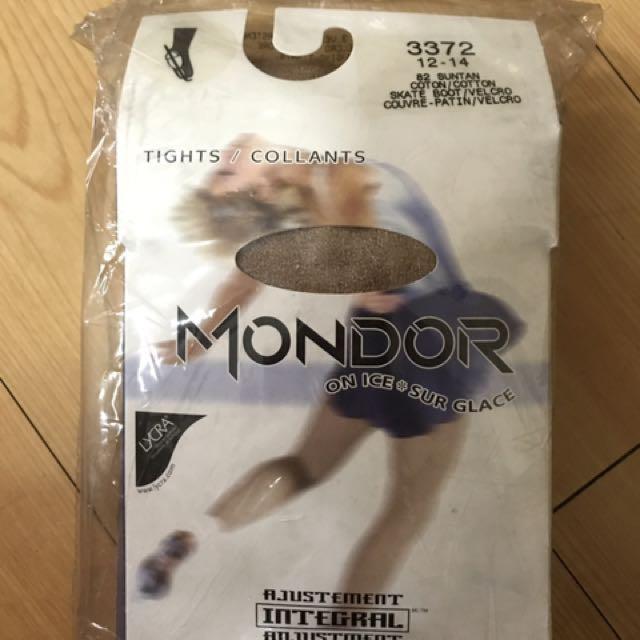 Mondor figure skating tights