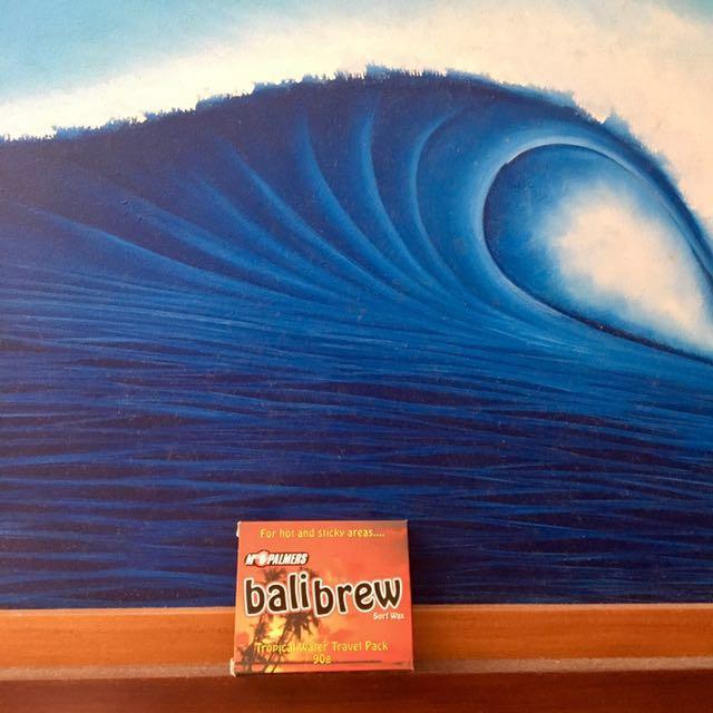 Mrs Palmers Bali Brew Tropical Water Surf Wax