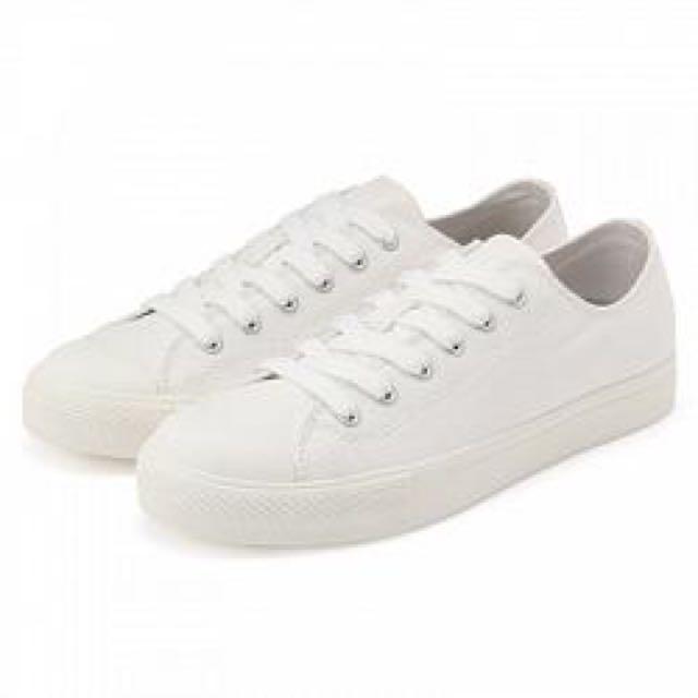Muji 無印良品 帆布鞋 Converse Vans