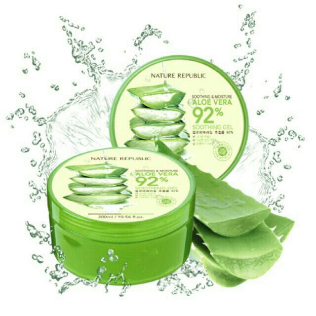 Nature Republic Soothing & Moisturizing 92% Aloe Vera Gel