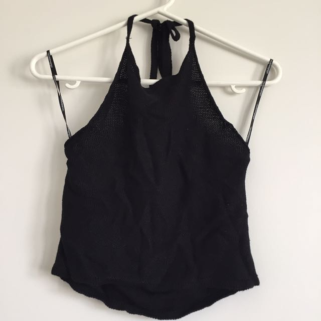 NEW All About Eve Halter Top S10