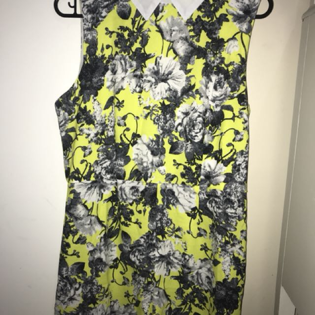 *NEW* Floral Collared Romper