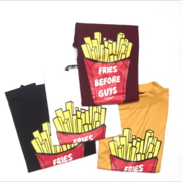 (NEW) French Fries Tee