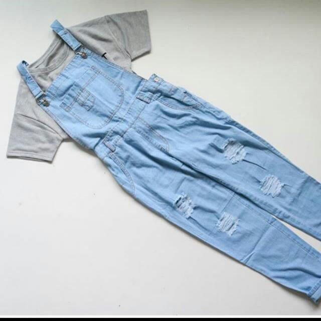 (NEW) Overall Jeans Import