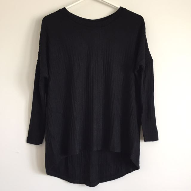 NEW x2 All About Eve Black Top