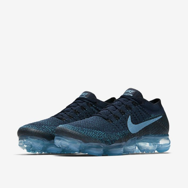 Ofensa mayoria Apellido  Nike Air VaporMax Flyknit JD Sports College Navy Blue, Men's Fashion,  Footwear on Carousell