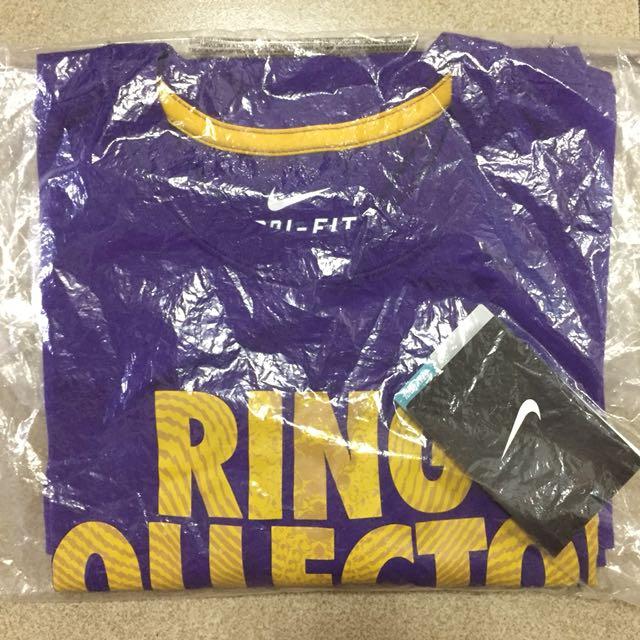 Nike Dri-Fit kobe短袖T恤針織衫 紫色 618851