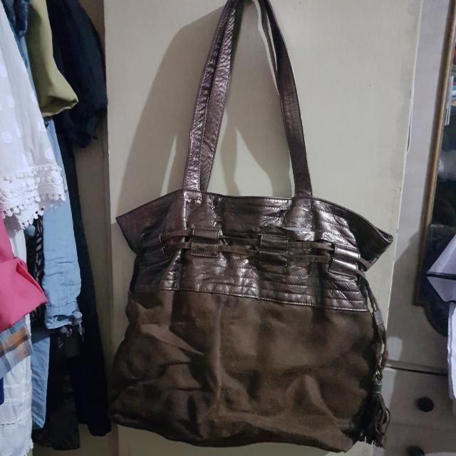 Nine West Golden Brown Shoulder Bag