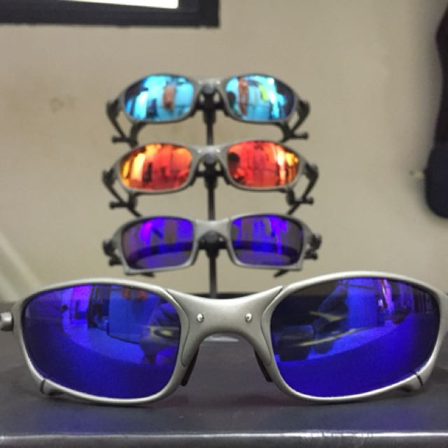 Oakley Juliet X-Metal Plasma   Blue Ice Iridium, Men s Fashion, Accessories  on Carousell d916231246