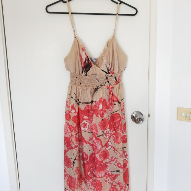 Oasis Floral Dress Size 12