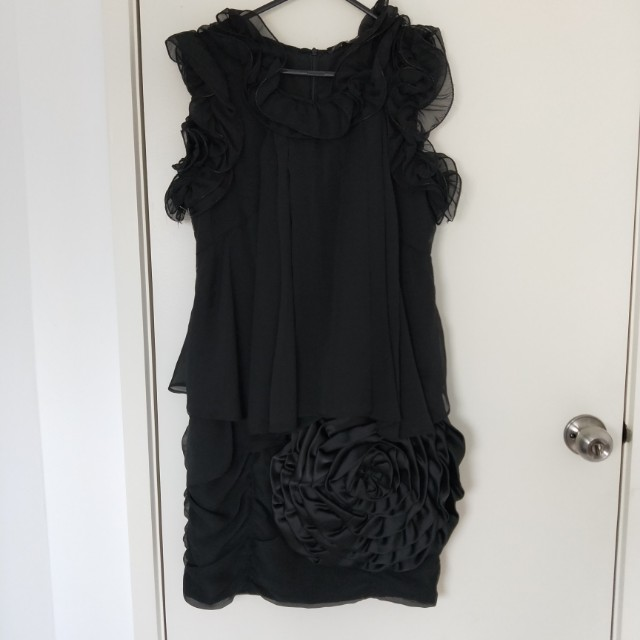 Occasion Dress with Flower detail