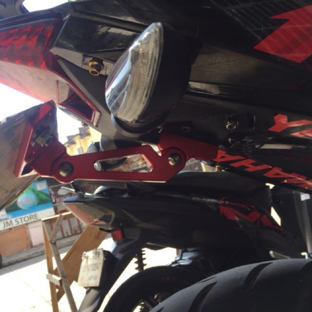 & Okimura Adjustable Plate Holder for Sniper150 Motorbikes on Carousell