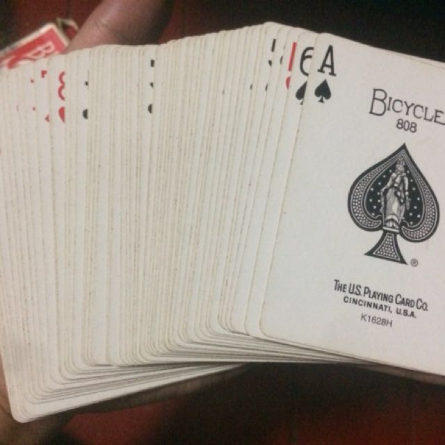 Old Bicycle Poker Cards