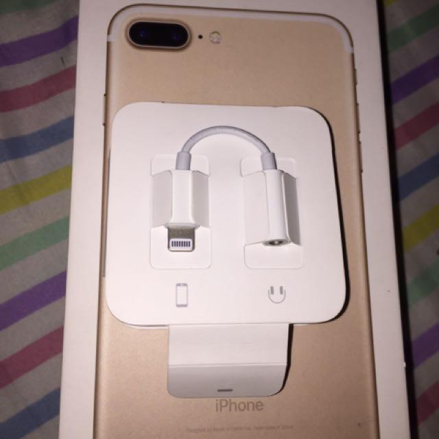 Orig apple 7/7+ Headset adapter