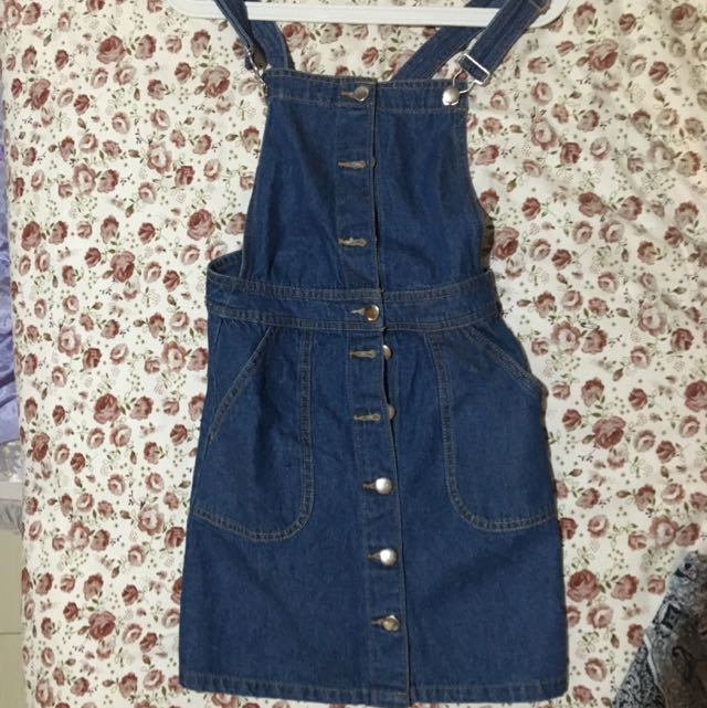 Overall jeans h&m