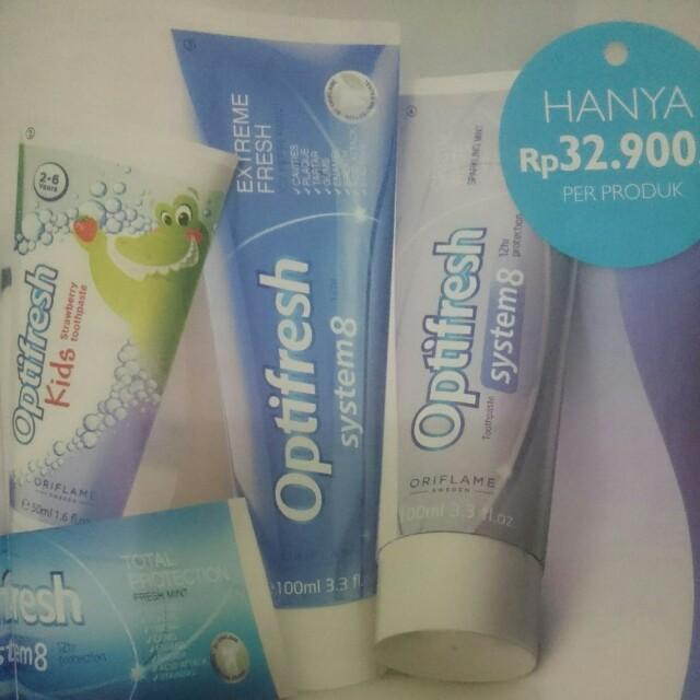 Pasta Gigi Oriflame Health Beauty Skin Bath Body On Carousell