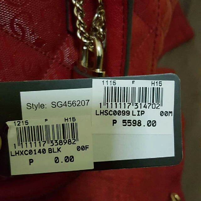 Red Guess Bag Repriced!