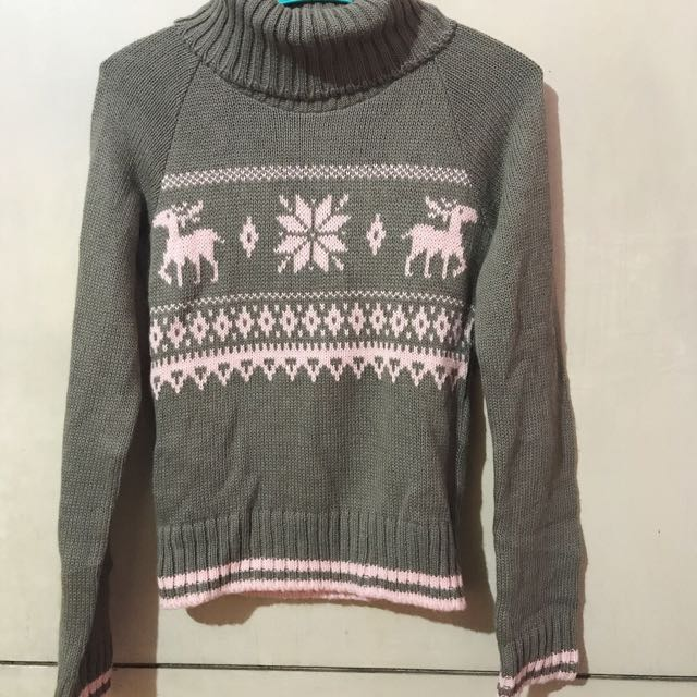 SALE: Knit Turtleneck pullover