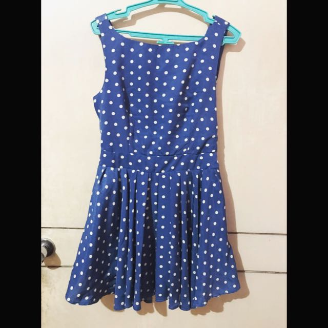 SALE: Pretty Polka Dress