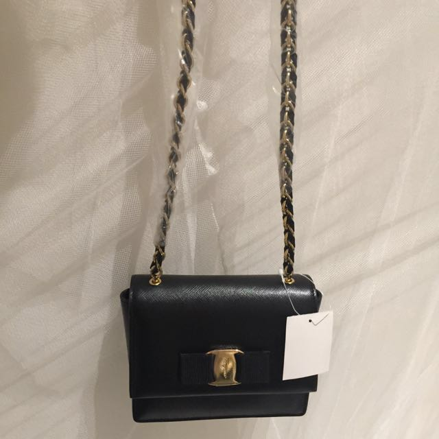 Salvatore Ferragamo Mini Ginny Bag