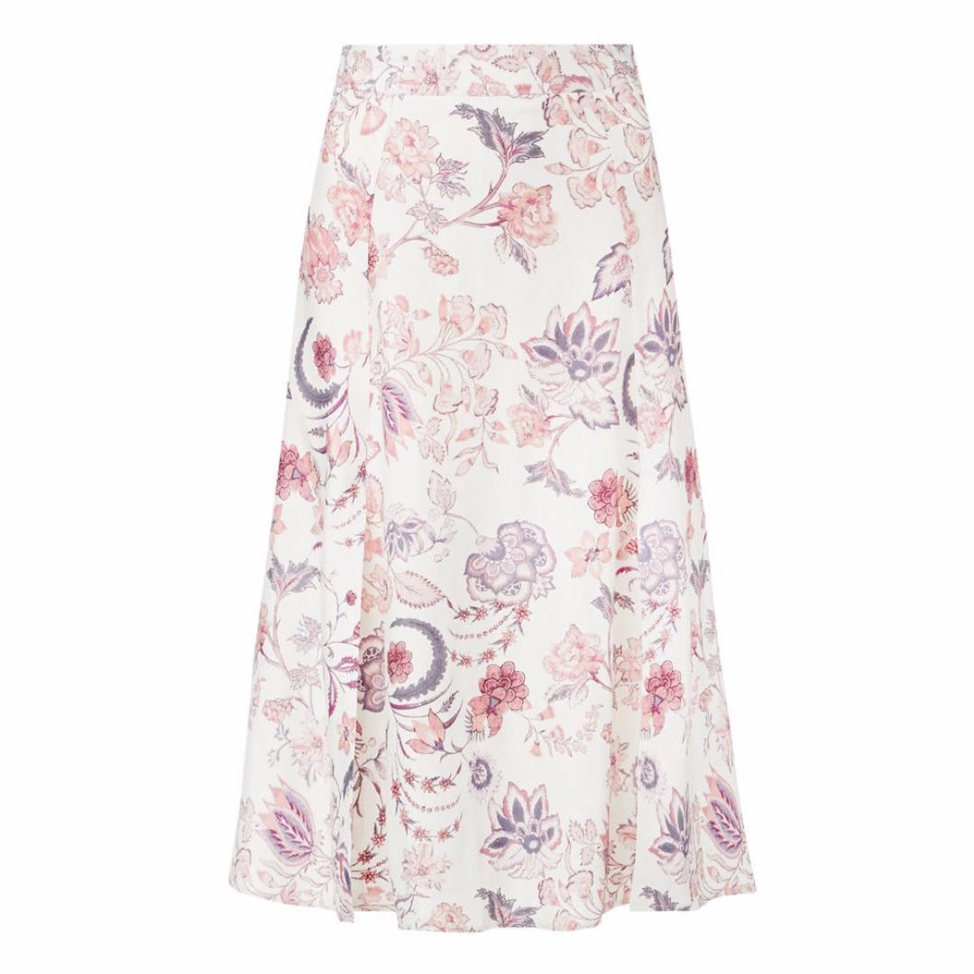 Seed printed midi skirt size 6