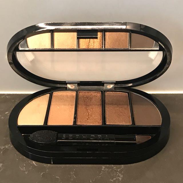 Sephora golden eyeshadow palette (mini)