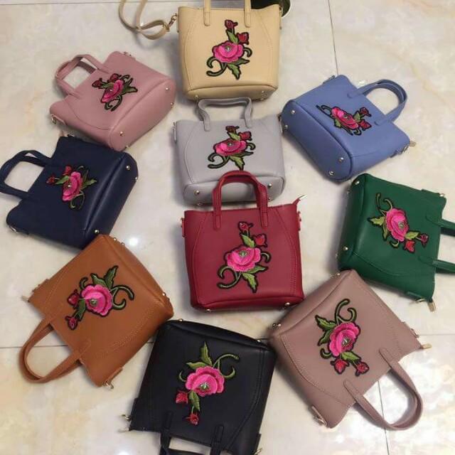 Sling Bag w/Patch