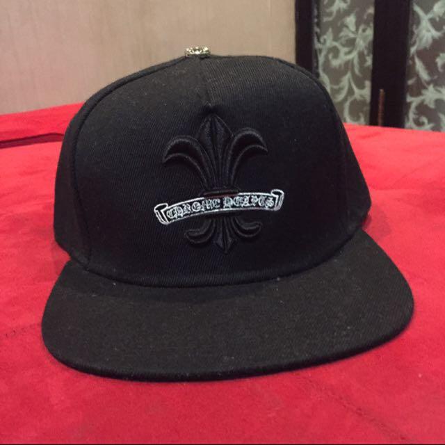 Snapback topi hitam hype