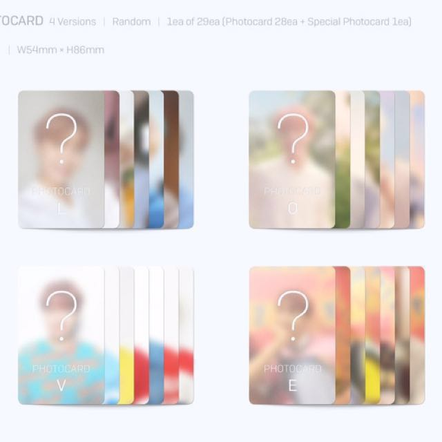 SOLD OUT!! BTS Her photocard