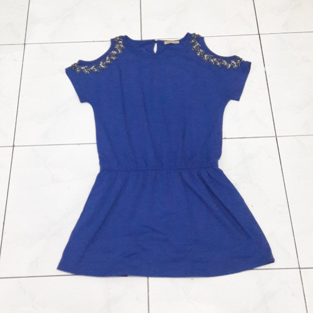 Sole Mio Electric Blue Dress
